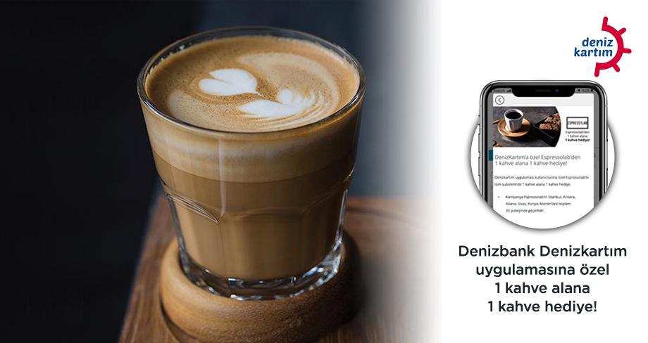 Espressolab - DenizBank 1+1 Coffee Campaign
