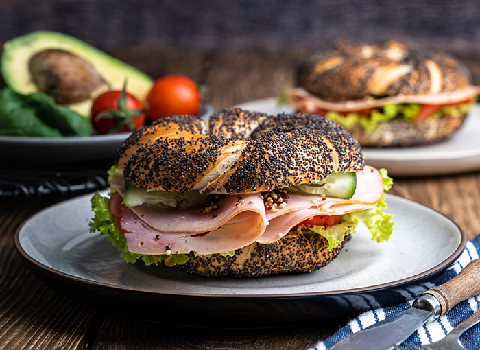 Smoked Turkey Sandwich with Avocado