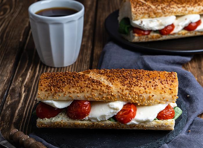 Mozzarella Baguette Sandwich