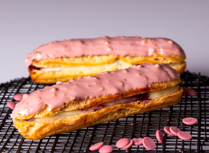 Ruby Chocolate Eclair
