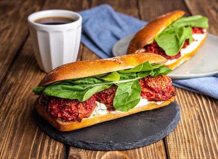 Beet Gospel Sandwich
