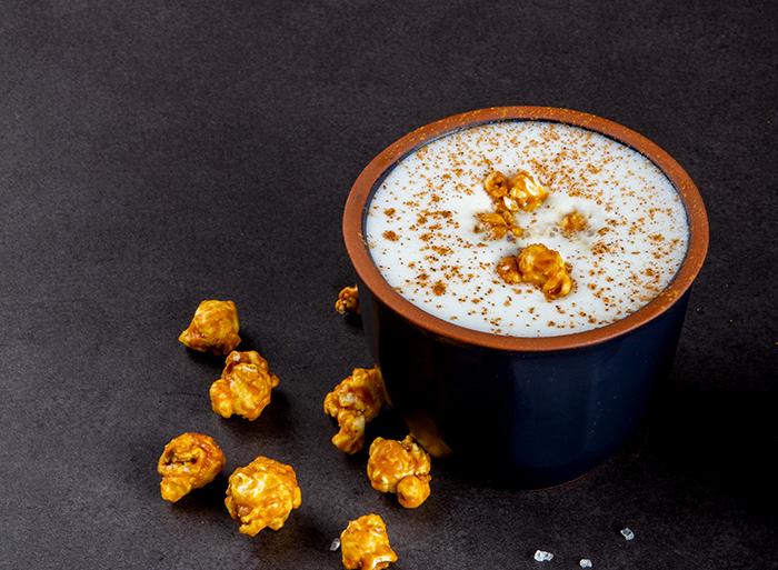 Caramel Popcorn Latte